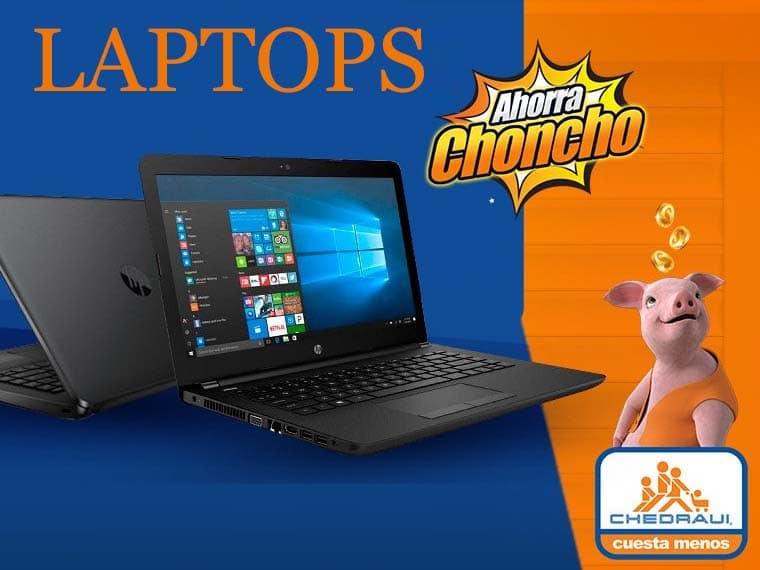 Laptops chedraui
