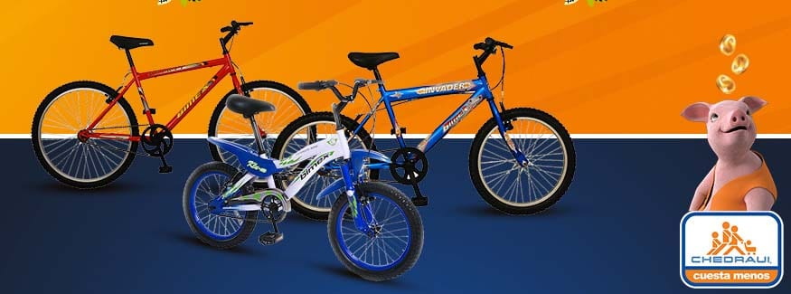 bicicletas Chedraui