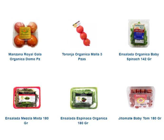 fruta y verdura orgánica