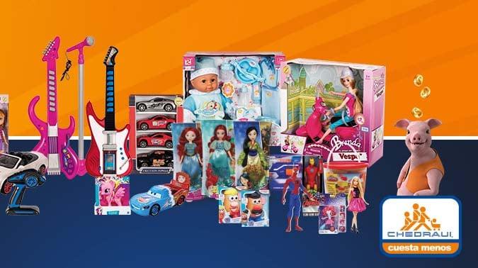 juguetes Chedraui importados