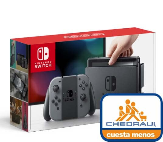 nintendo switch chedraui