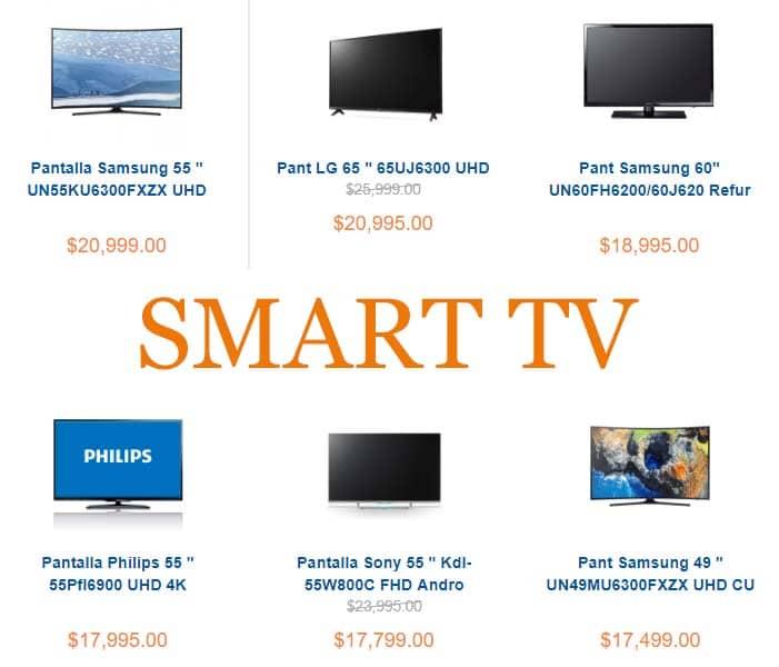 smart tv marcas
