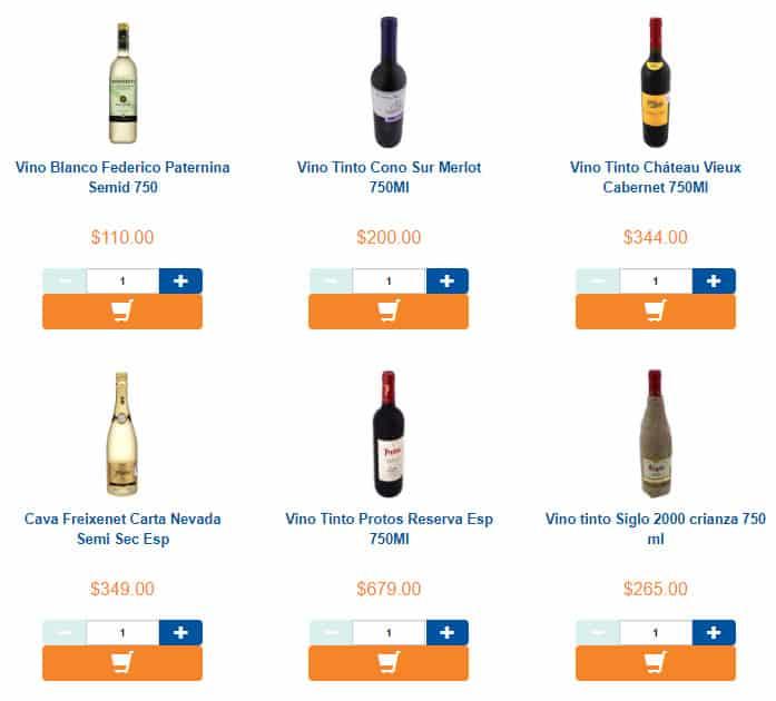 vino precios