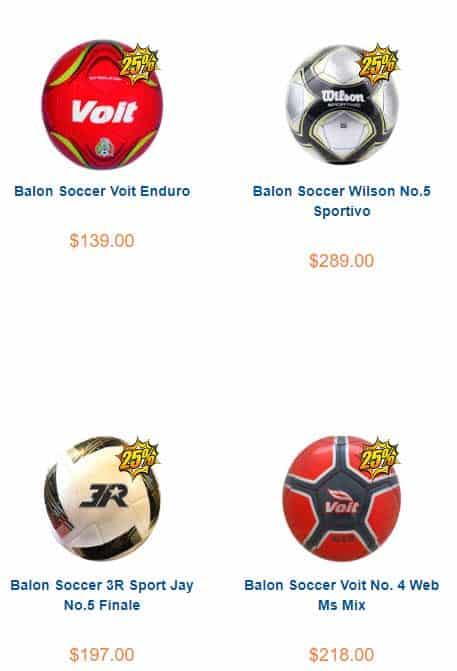 balón soccer oferta chedraui